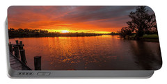 Sunrise On The Collie River Portable Battery Charger