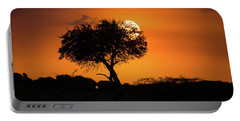 Sunrise On The Mara Portable Battery Charger