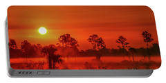 Sunrise On The Marsh Portable Battery Charger