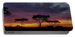 Sunrise On The Serengeti Portable Battery Charger