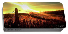 Sunrise On The Wire Portable Battery Charger