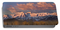 Sunrise On Timpanogos Portable Battery Charger