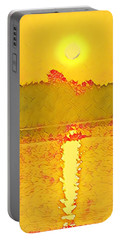 Sunrise On Town Lake Portable Battery Charger