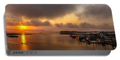 Sunrise On Willapa Bay Portable Battery Charger