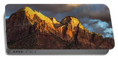 Sunrise On Zion National Park Portable Battery Charger
