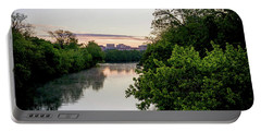 Sunrise Over Austin Texas Portable Battery Charger