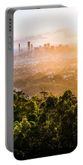 Sunrise Over Brisbane Portable Battery Charger
