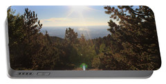 Sunrise Over Colorado Springs Portable Battery Charger