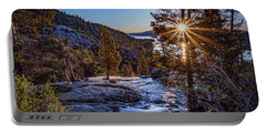 Sunrise Over Emerald Bay Portable Battery Charger