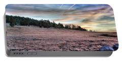 Sunrise Over Ft. Apache Portable Battery Charger