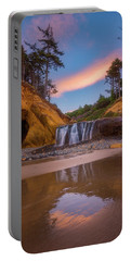Portable Battery Charger featuring the photograph Sunrise Over Hug Point by Darren White