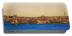 Sunrise Over Istanbul Portable Battery Charger