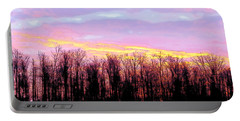 Sunrise Over Lake Portable Battery Charger