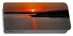 Portable Battery Charger featuring the photograph Sunrise Over Lake Ray Hubbard by Diana Mary Sharpton