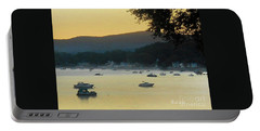 Sunrise Over Malletts Bay Panorama - Nine V2 Detail Portable Battery Charger
