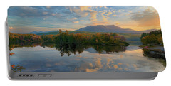 Sunrise Over Mt. Katahdin Portable Battery Charger