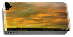 Sunrise Over Northern Colorado Portable Battery Charger