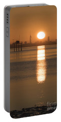 Sunrise Over Portsmouth Portable Battery Charger