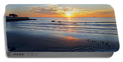 Sunrise Over Red Rock Park Lynn Shore Drive Portable Battery Charger