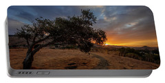 Sunrise Over San Luis Obispo Portable Battery Charger