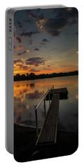 Sunrise Over Stuber's Dock V Portable Battery Charger