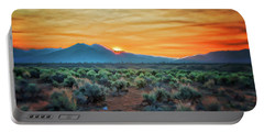 Sunrise Over Taos II Portable Battery Charger