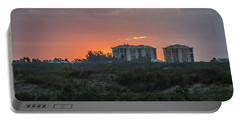 Sunrise Over The Intracoastal Portable Battery Charger