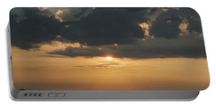 Sunrise Over The Isle Of Wight Portable Battery Charger