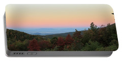 Sunrise Over The Shenandoah Valley Portable Battery Charger