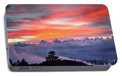 Portable Battery Charger featuring the photograph Sunrise Over The Smoky's II by Douglas Stucky