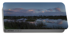 Sunrise Over The Wetlands Portable Battery Charger