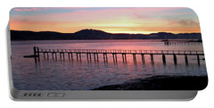 Sunrise Over Tomales Bay Portable Battery Charger