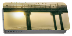 Portable Battery Charger featuring the photograph Sunrise Pier In Alabama  by John McGraw