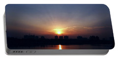 Sunrise Reflection Portable Battery Charger
