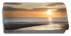 Sunrise Reflections At Aberdeen Beach Portable Battery Charger