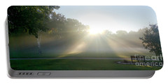 Portable Battery Charger featuring the photograph Sunrise  by Ricky L Jones