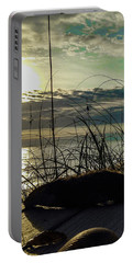 Sunrise Sea Shells Portable Battery Charger by Josy Cue