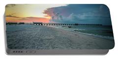 Sunrise Seascape Gulf Shores Al Pier 064a Portable Battery Charger