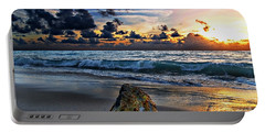 Sunrise Seascape Wisdom Beach Florida C3 Portable Battery Charger