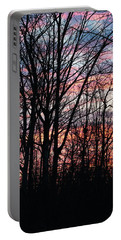 Sunrise Silhouette And Light Portable Battery Charger