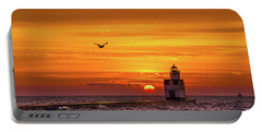 Portable Battery Charger featuring the photograph Sunrise Solo by Bill Pevlor