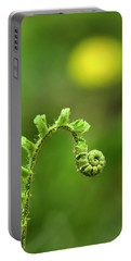 Sunrise Spiral Fern Portable Battery Charger