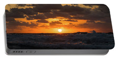 Sunrise Splash Surf Delray Beach Florida Portable Battery Charger