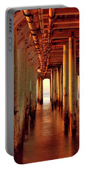 Sunrise Under The Pier Portable Battery Charger