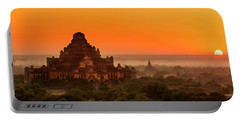 Sunrise View Of Dhammayangyi Temple Portable Battery Charger