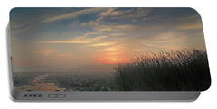 Sunrise Through The Fog Portable Battery Charger