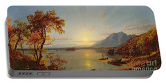 Sunset  Lake George Portable Battery Charger