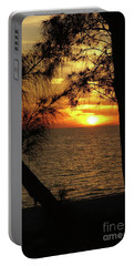 Sunset 1 Portable Battery Charger by Megan Cohen