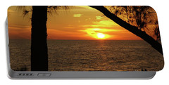 Sunset 2 Portable Battery Charger by Megan Cohen