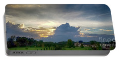 Portable Battery Charger featuring the photograph Sunset After The Storm by Ricky L Jones